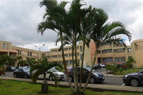 Hôpital de Souillac île Maurice mars 2020
