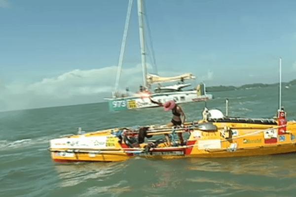 Rames Guyane 2014 les arrivés