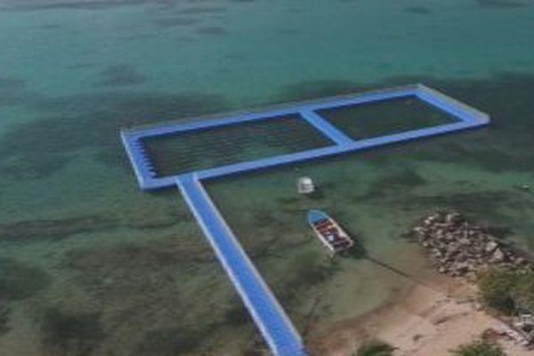 piscine en mer
