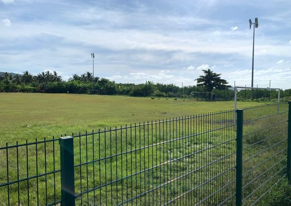 terrain de foot vide