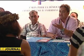 Tauhiti Nena et Richard Tuheiava candidats UPLD aux sénatoriales
