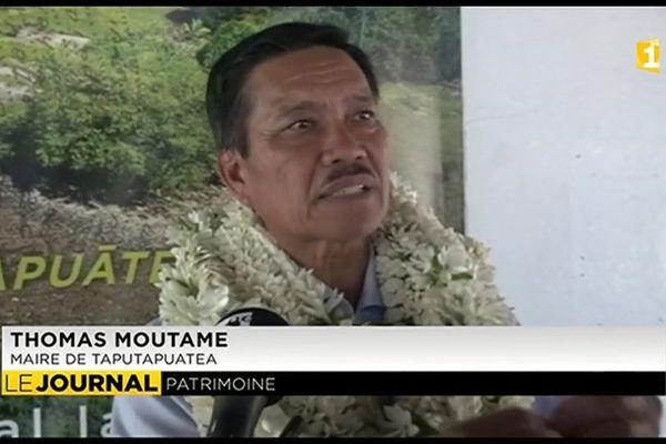 Taputapuatea classé par l'UNESCO : Retour plein de fierté pour le maire