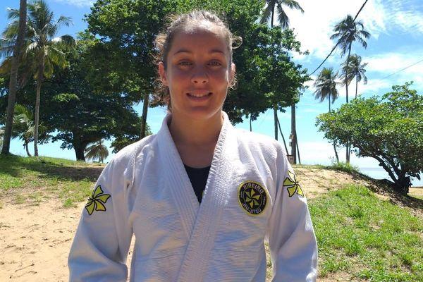 Aurélie Le Vern championne du monde Jiu-Jitsu
