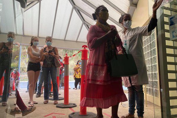 Accueil au centre de vaccination de Montravel, 7 septembre 2021
