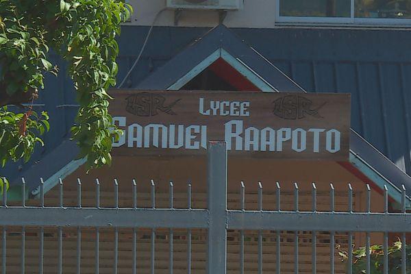 Samuel Raapoto lycée