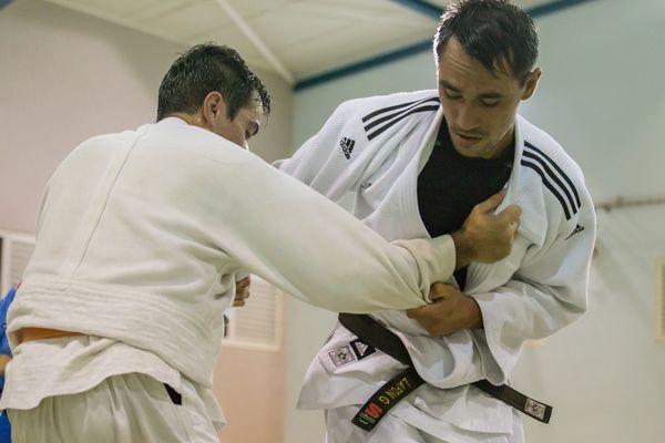 Gaston Lafon - Entrainement de Judo