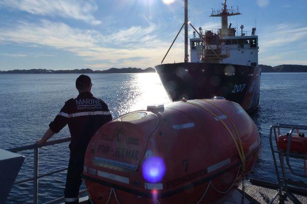 Opération internationale au Groenland pour le Fulmar, patrouilleur militaire basé à Saint-Pierre et Miquelon