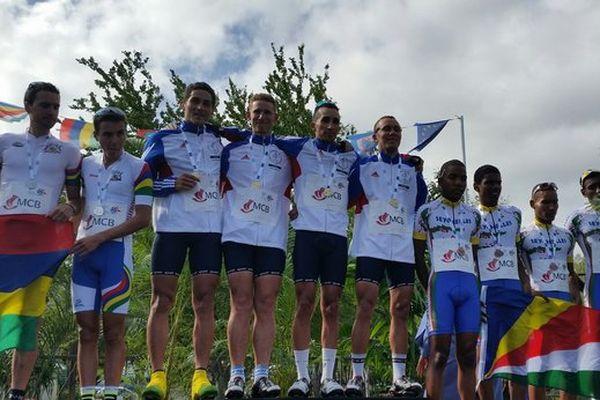 Médaille d'or en cyclisme