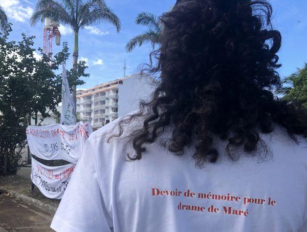 Marche pour le drame de Maré, 6 août 2021