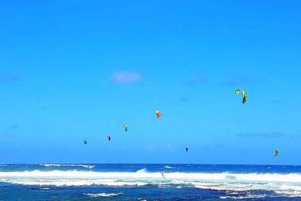 Wind Surf Ciel bleu