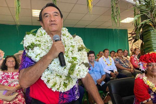 Antony Géros nouveau maire de Paea, enfin !