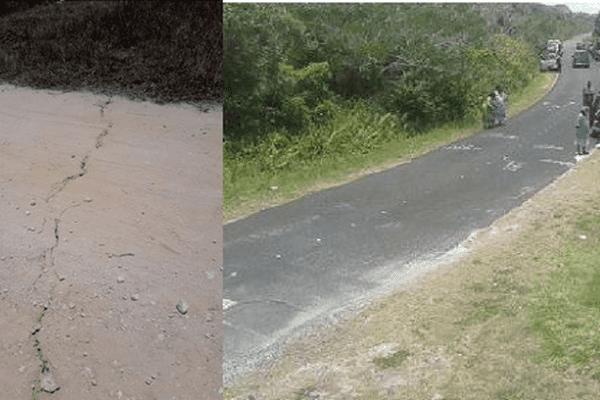 Photos prises à Maré / Nouvelle Calédonie / Seisme