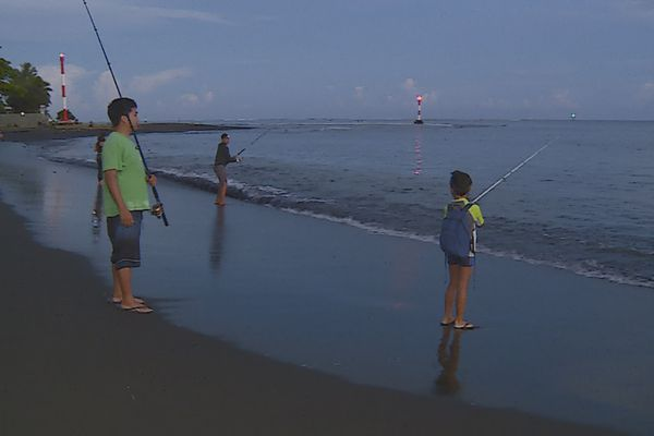 pêche ature baie de Taaone