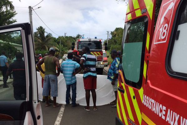 accident marie galante