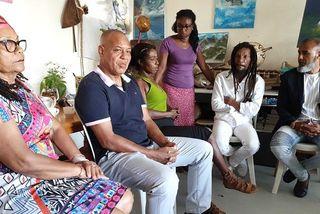 La famille de Vanina tuée en 2018 à Sainte-Marie.