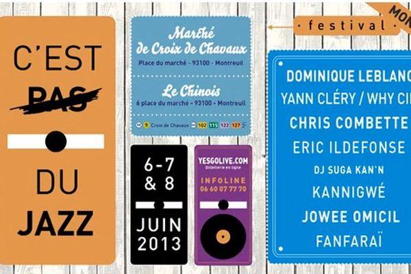 """Festival """"C'est pas du jazz"""""""