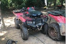 Saisie de matériel le 28 septembre le long du Maroni sur un site d'orpaillage illégal