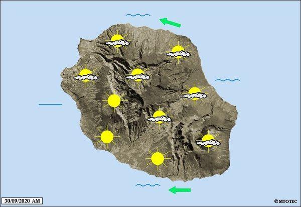 Carte météo 30 septembre 2020
