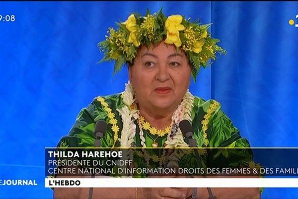 Invitée de l'hebdo : Thilda HAREHARUA, présidente du centre national d'information des droits des femmes et de la famille (CNIDFF)