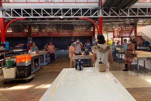marché de Papeete fermé