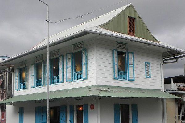 Maison Félix Eboué à Cayenne