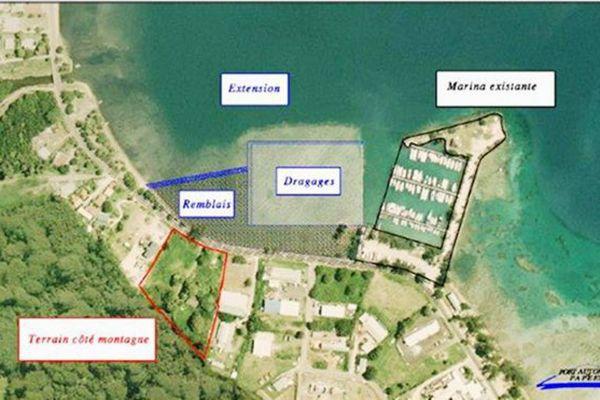 Le conseil municipal de Moorea contre l'extension de la marina de Vaiare