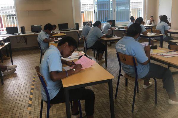 DNB Epreuves écrites brevet collège Sainte-Marie de Païta