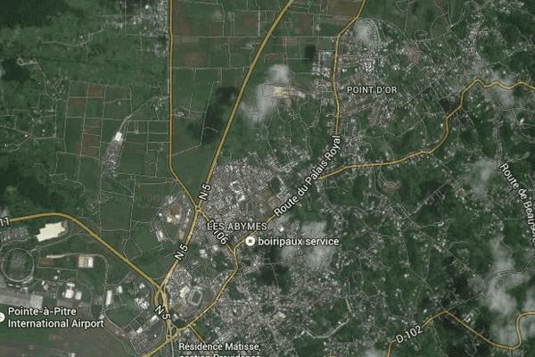 Capesterre Belle-Eau, maps