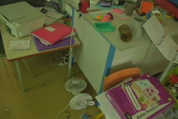 20170307 école Vandalisée