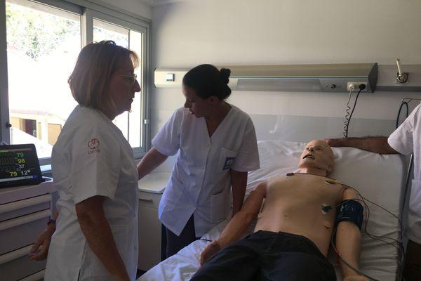 simulateur centre soins cesim