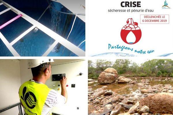 Mosaïque enquete sur le plan sécheresse, janvier 2020