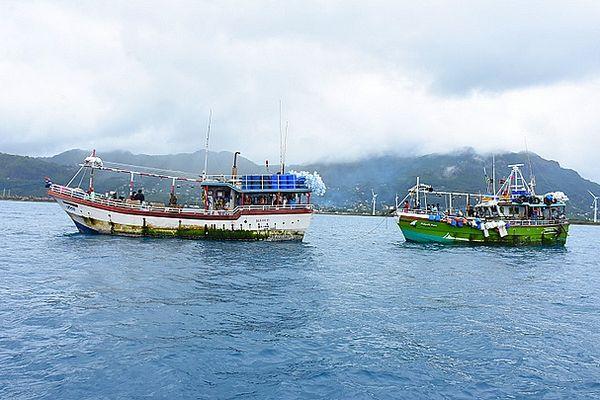 Deux bateaux de pêche Sri Lankais appréhendés 23 juin 2021