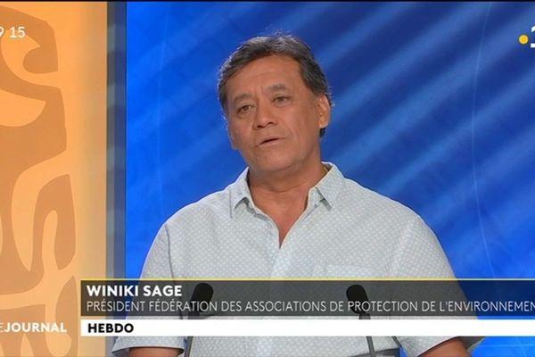 L'invité de l'hebdo : Winiki Sage, président de la fédération des associations de protection de l'environnement