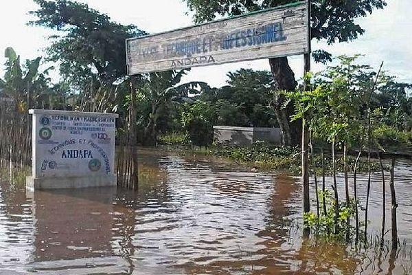 Inondation à Andapa 8 janvier 2020