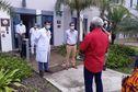 Les membres du Sénat Coutumier en visite au Médipôle