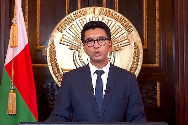 Andry Rajoelina président de Madagascar mars 2020