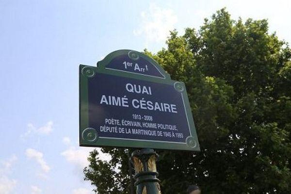 Quai Aimé Césaire à Paris