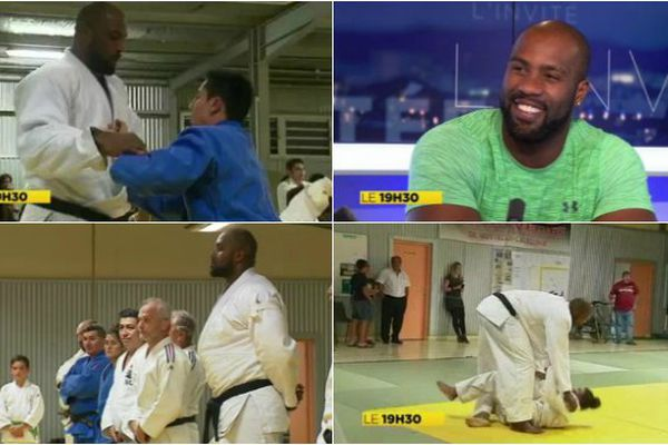 Collage Teddy Riner NC