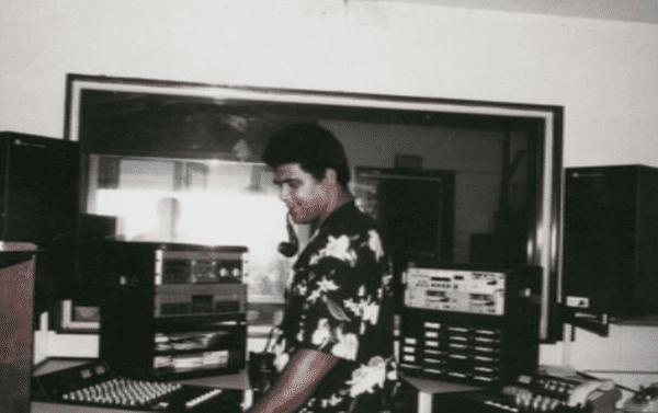RFO Wallis à l'époque dans les années 1986 1987