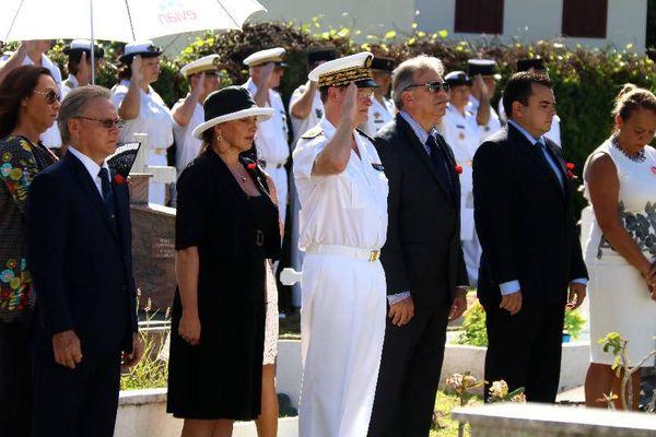 La cérémonie s'est déroulée en présence du Haut Commissaire et du vice président du gouvernement