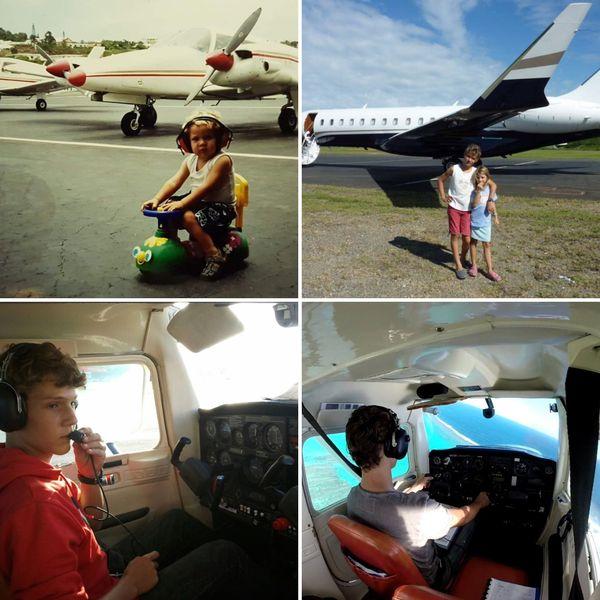 Depuis l'enfance, Mathieu rêve de devenir pilote