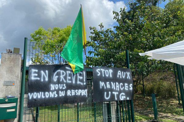 Grève à Ekotri