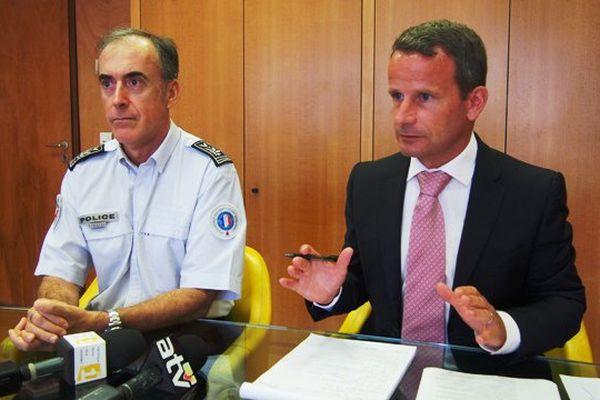 Procureur et directeur départemental sécurité publique