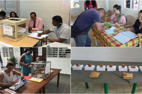 Les bureaux de vote sont ouverts en Guyane.