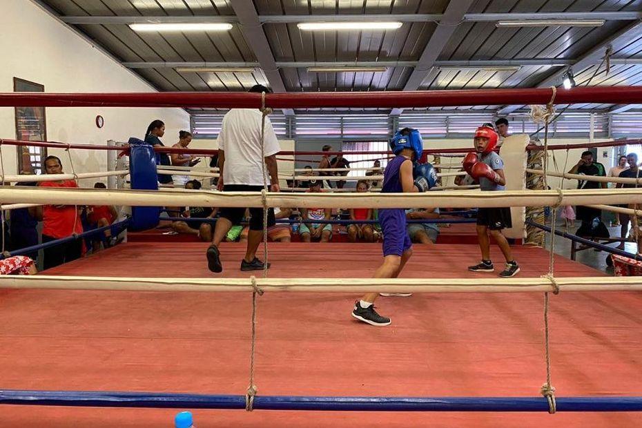 Une journée boxe éducative - Polynésie la 1ère