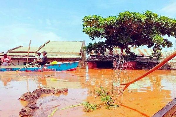 Inondation à Madagascar janvier 2020