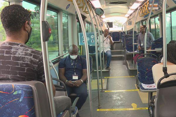 Signalétique dans les bus de l'agglo