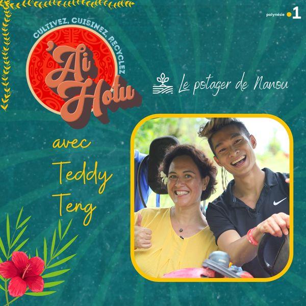 ai hotu avec Teddy Teng