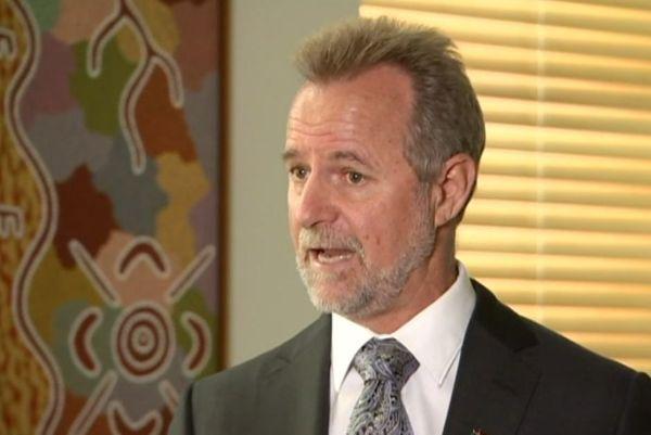 Nigel Scullion, ministre australien des Affaires indigènes, septembre 2017