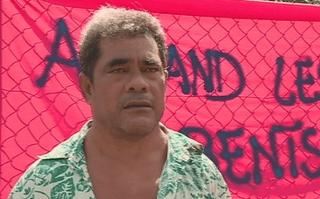 Mateasi Tialetagi parent d'élève de l'école de Fiua à Futuna